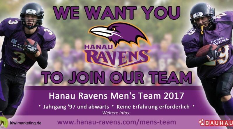 Start ins Wochenende, Heute ab 19:00 Uhr mit dem RadioMann und den Hanau Ravens.