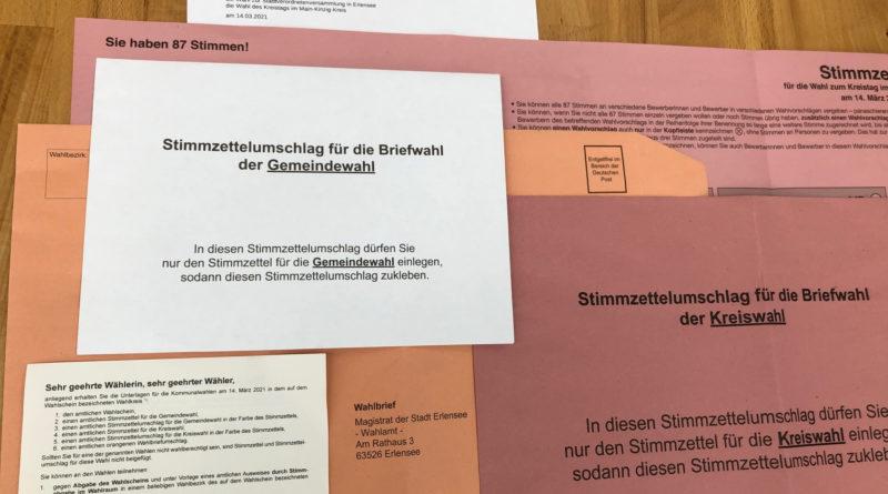 Kommunalwahlen und Ausländerbeiratswahl am 14. März 2021:Die Wahlbezirke wurden neu eingeteilt und es gibt neue Wahllokale