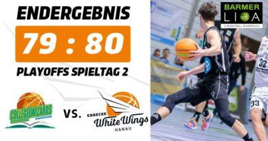 Zweite Playoff-Runde zum Greifen nahe: White Wings gewinnen auch gegen Karlsruhe